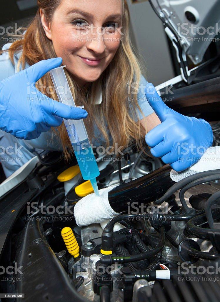 Car first aid stock photo