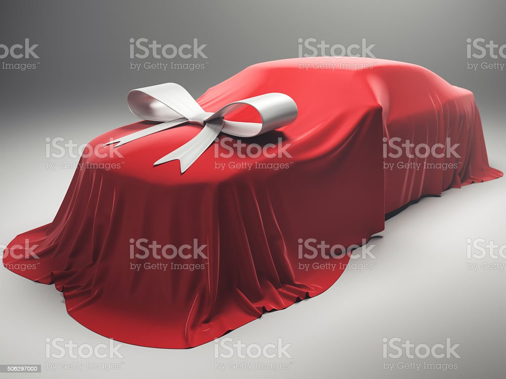 Car For Present stock photo