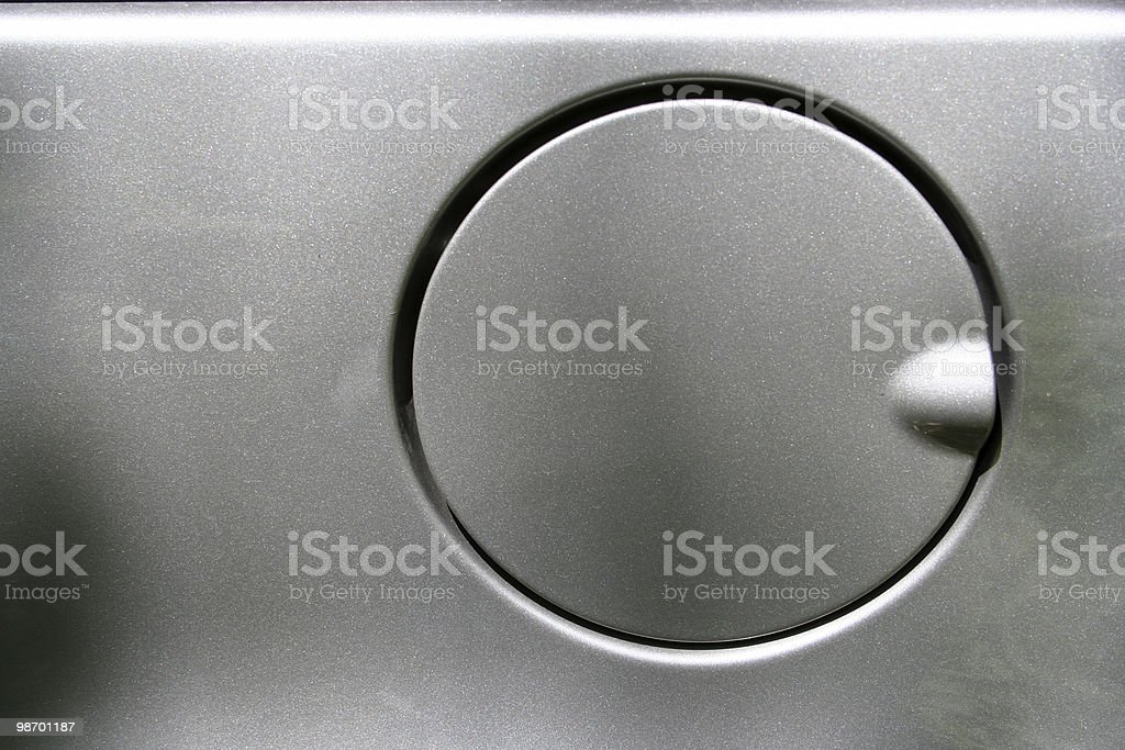 Car gas tank close-up royalty-free stock photo