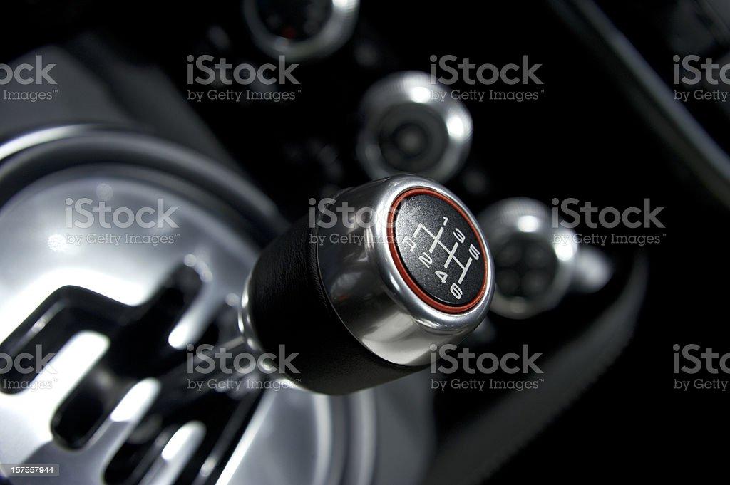 Car Gear Shift stock photo