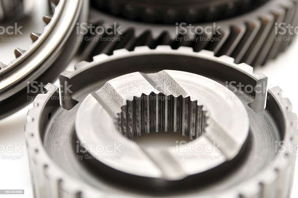 Car gearbox sprocket. royalty-free stock photo