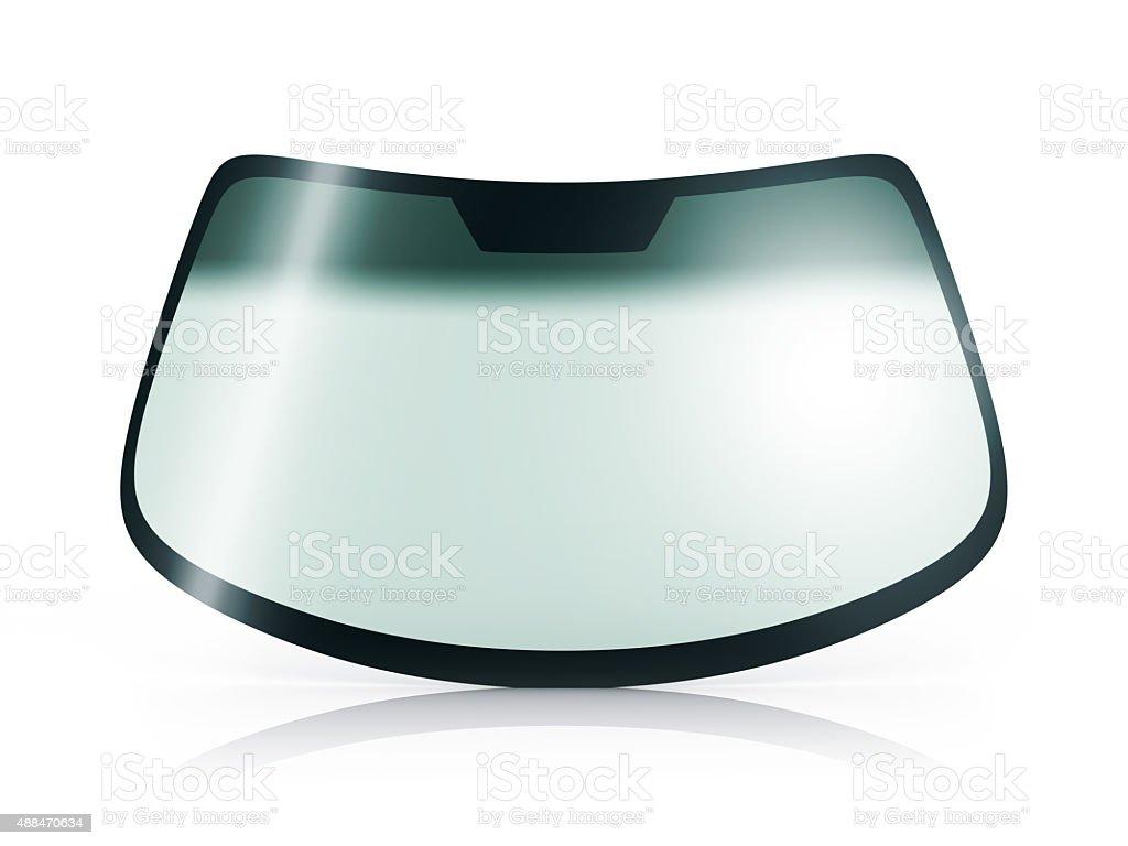 Car glass stock photo