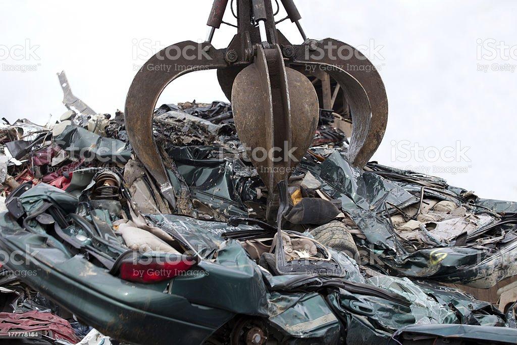 Car grabber royalty-free stock photo