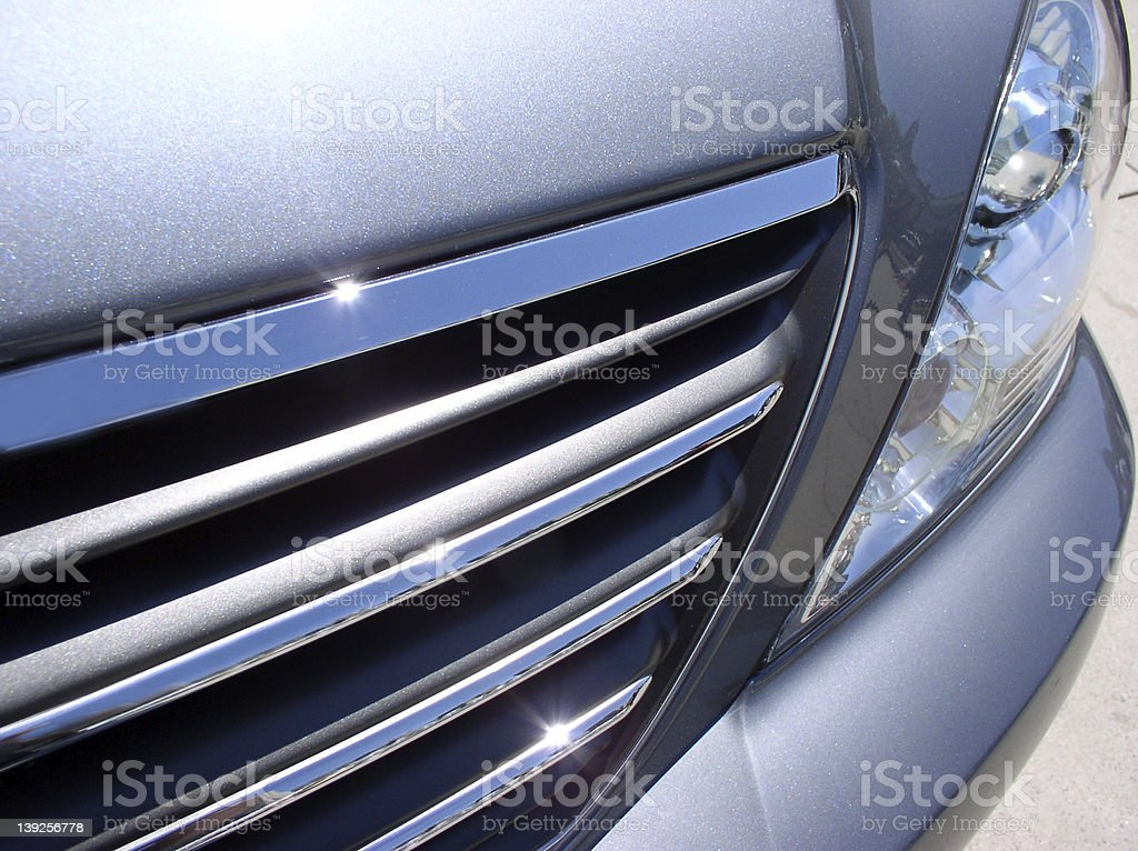 Car Grill Close UP royalty-free stock photo