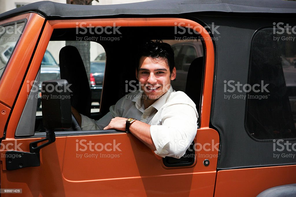 Car Happiness royalty-free stock photo