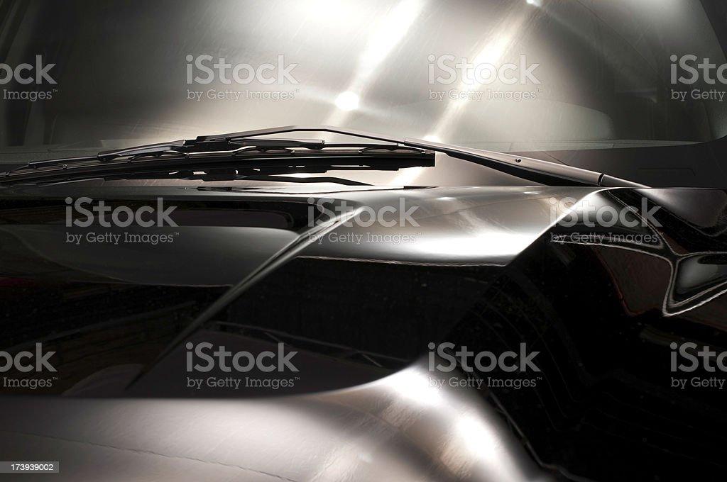 Car Hood royalty-free stock photo