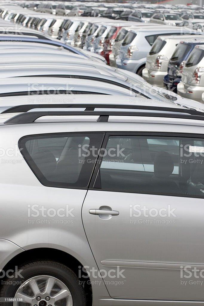 Car Imports royalty-free stock photo