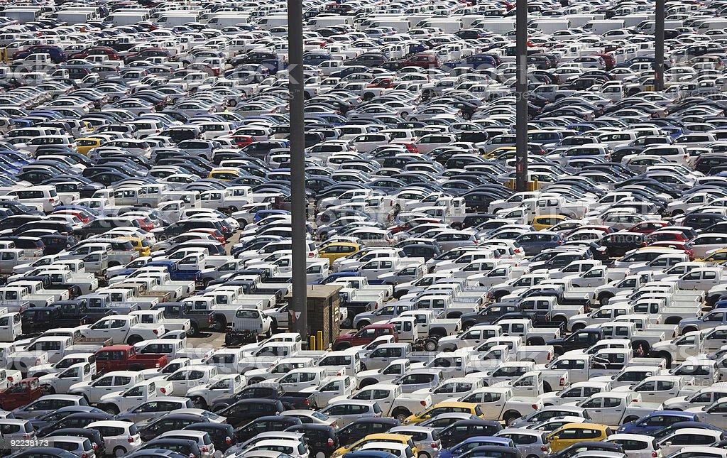 car imports stock photo