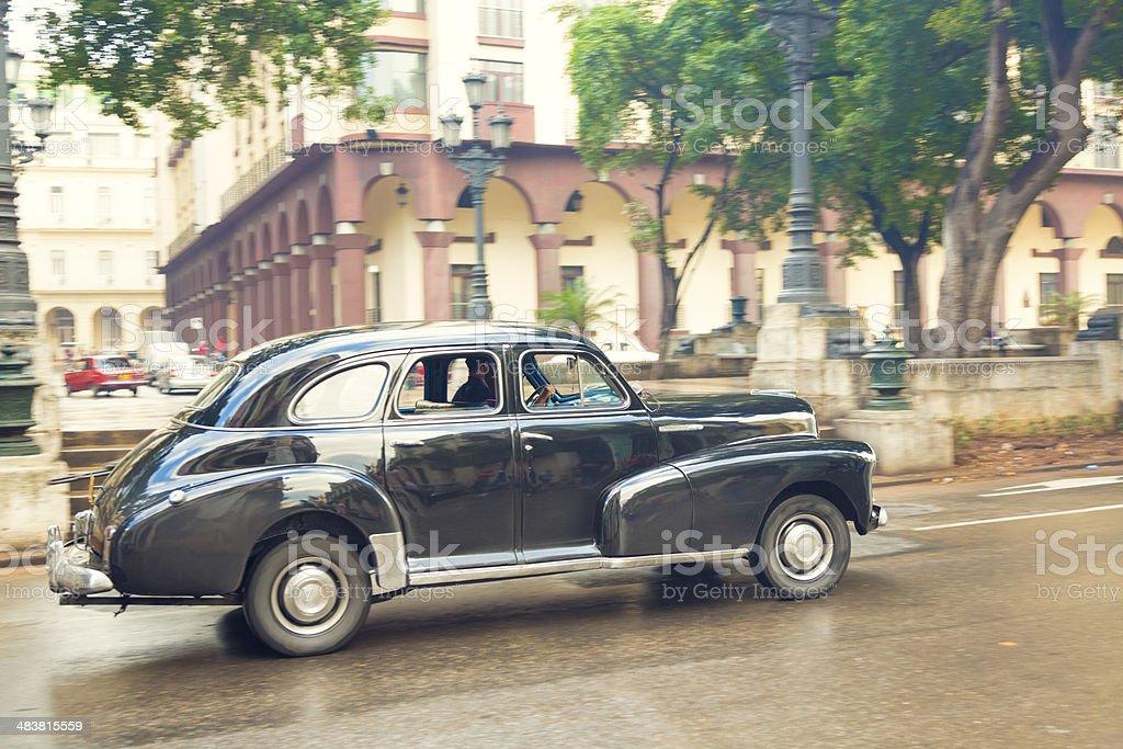 Car in Havana, Cuba stock photo