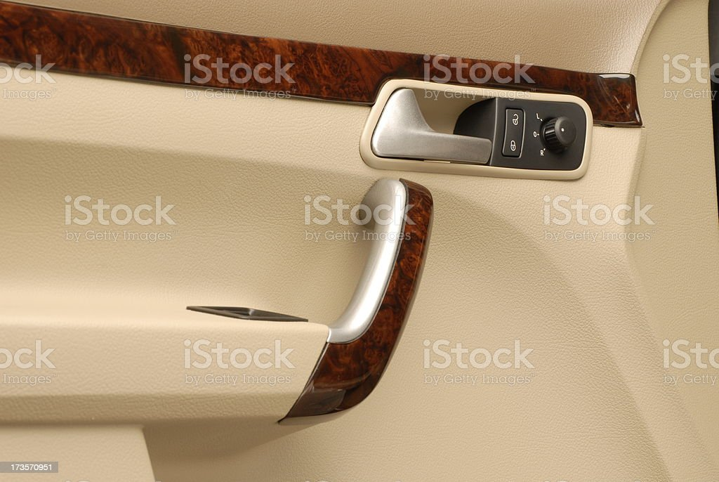 Car Indoor Handle royalty-free stock photo
