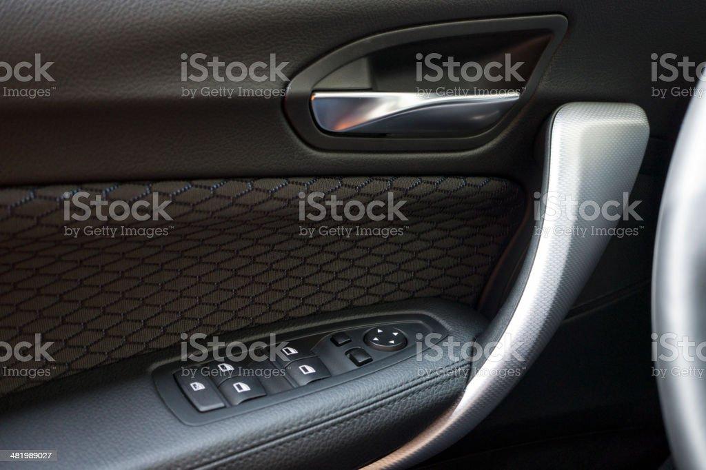Car Indoor Handle royalty-free stock photo