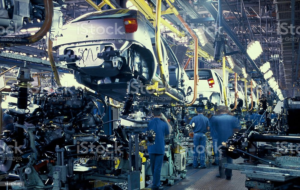car industry, automobile stock photo