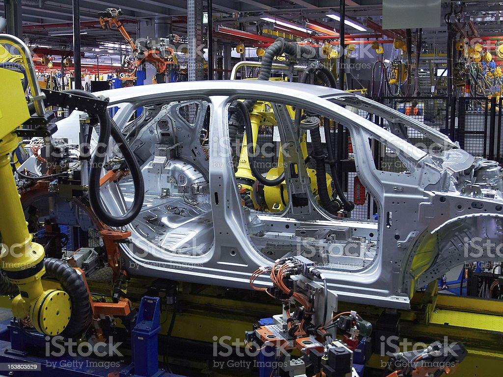 car industry stock photo