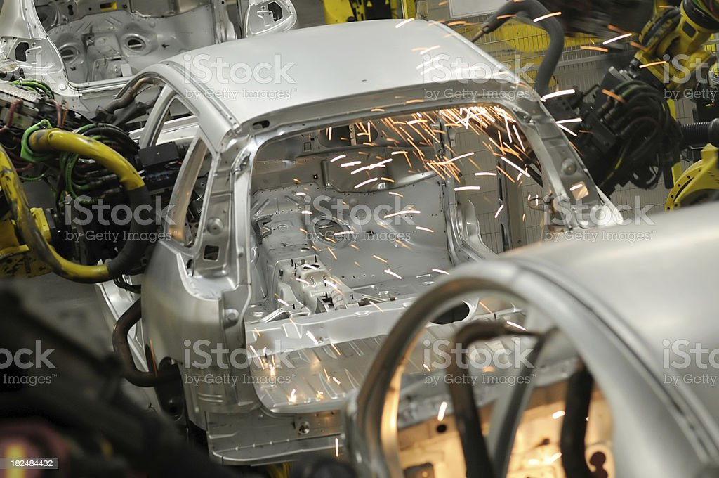 car industry royalty-free stock photo