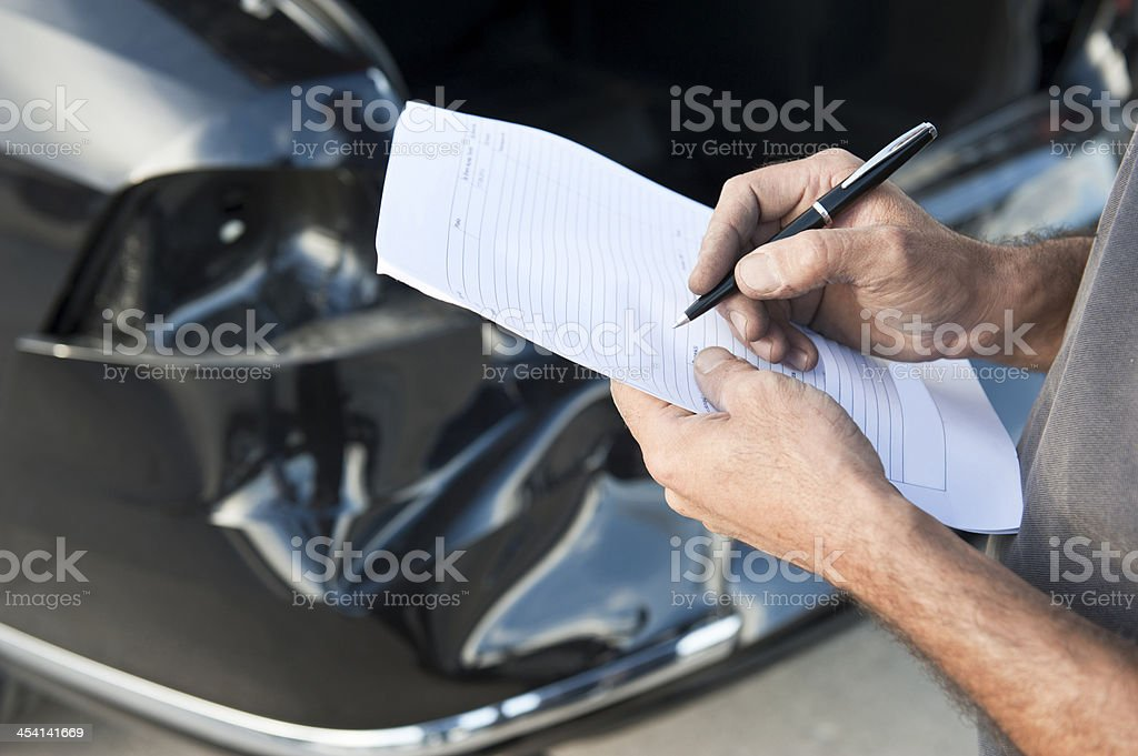 Car inspections royalty-free stock photo