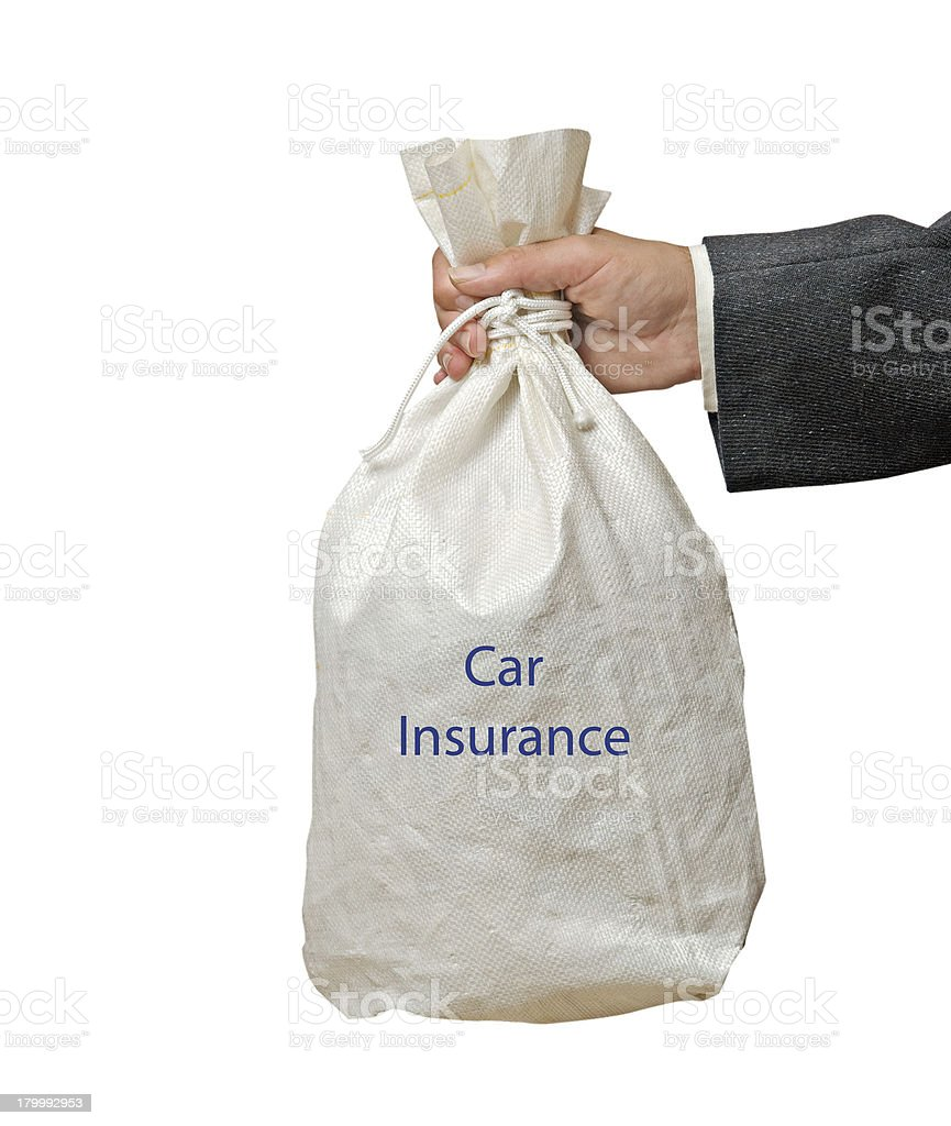 car insurance royalty-free stock photo