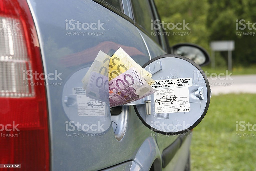 Car is a big cost 04 royalty-free stock photo