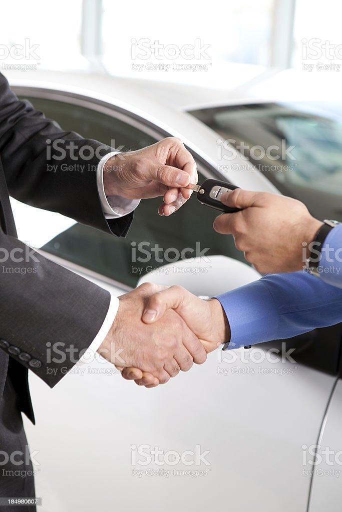 Car Key royalty-free stock photo