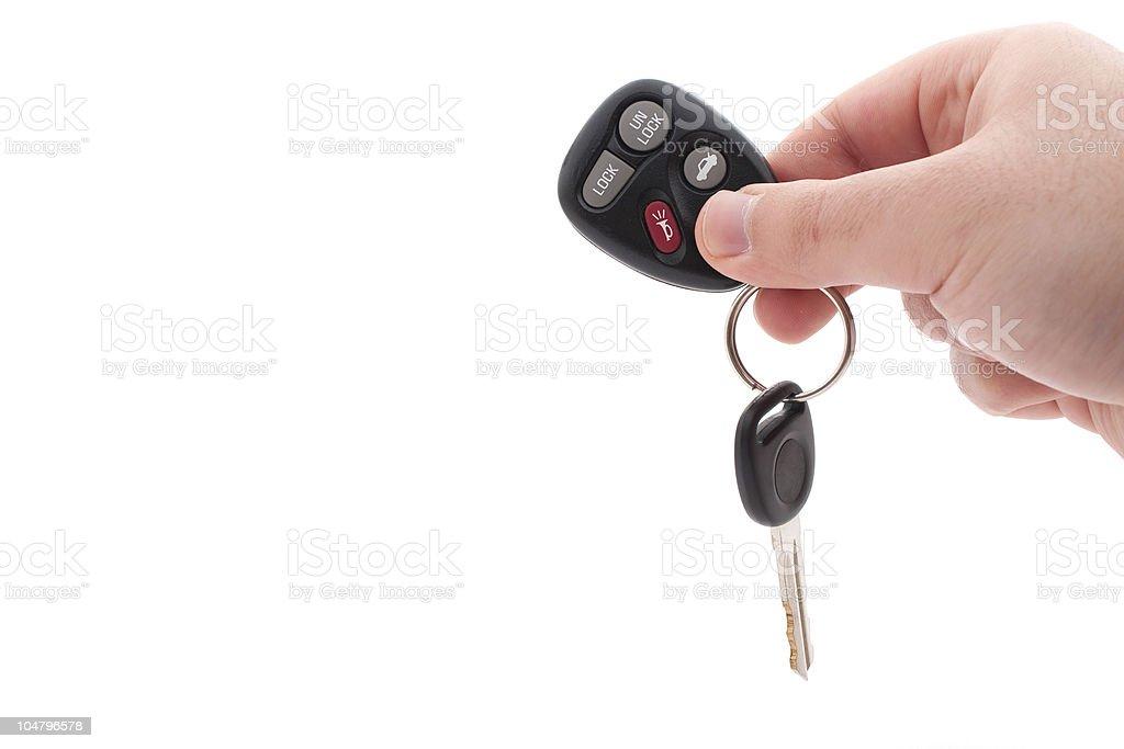 Car Keys and Remote royalty-free stock photo