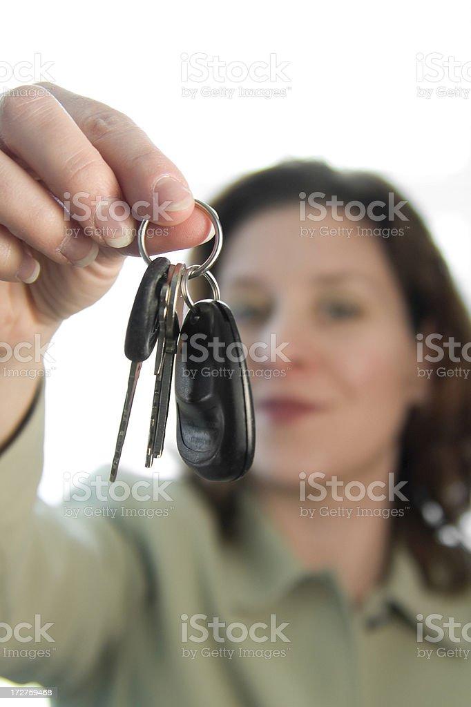 Car Keys royalty-free stock photo