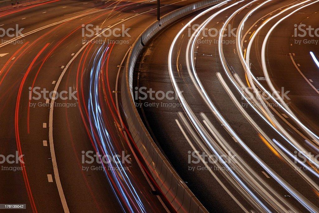 Car Lights royalty-free stock photo