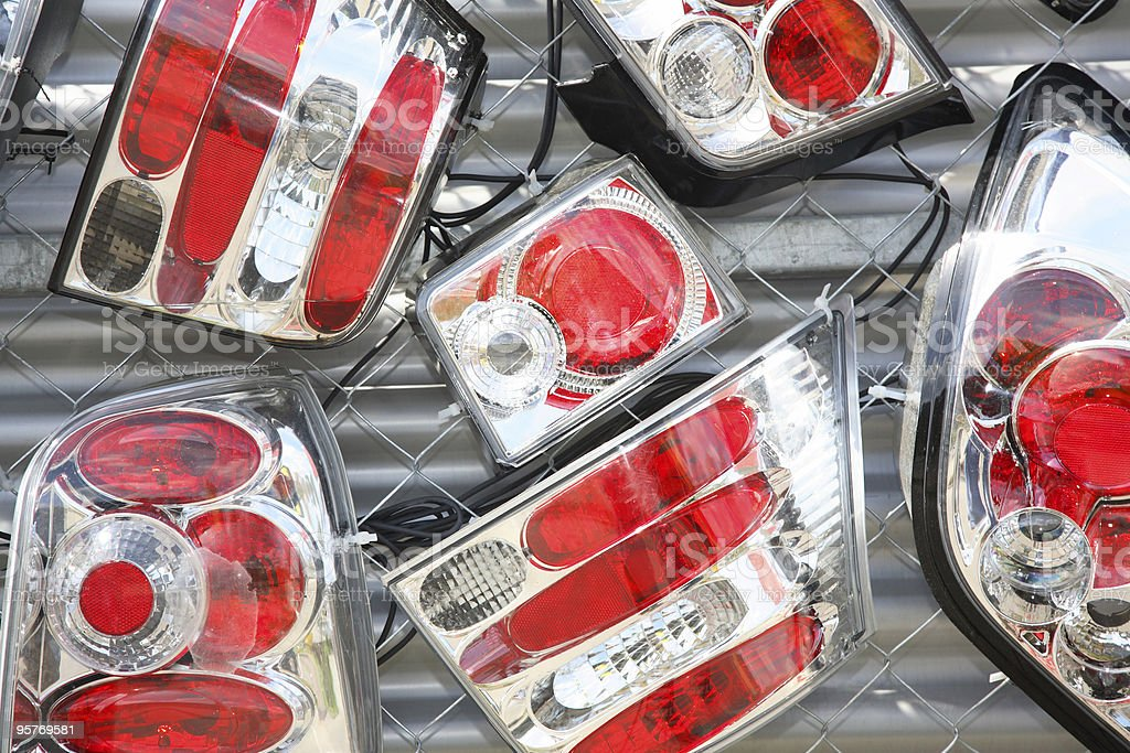 Car Lights royalty-free stock photo