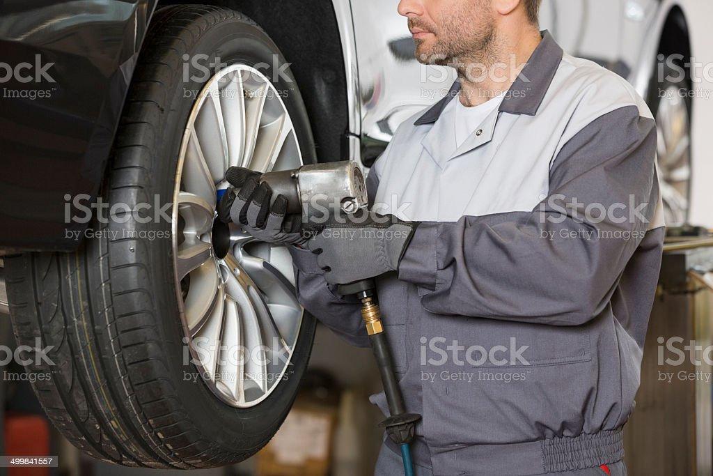 Car Maintenance Garage Workshop stock photo