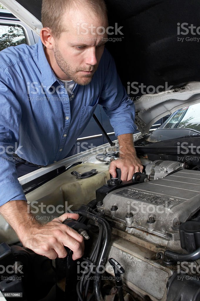 Car Maintenance #3 royalty-free stock photo