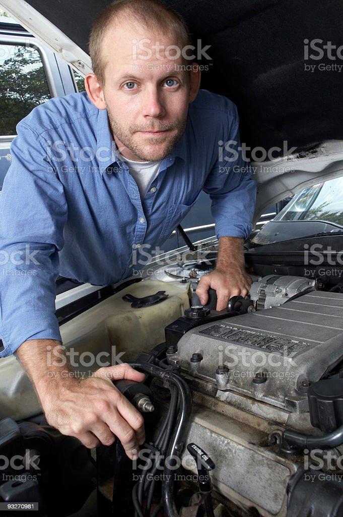 Car Maintenance #2 royalty-free stock photo