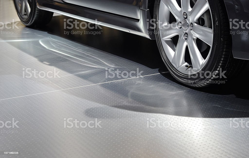 car & metal royalty-free stock photo