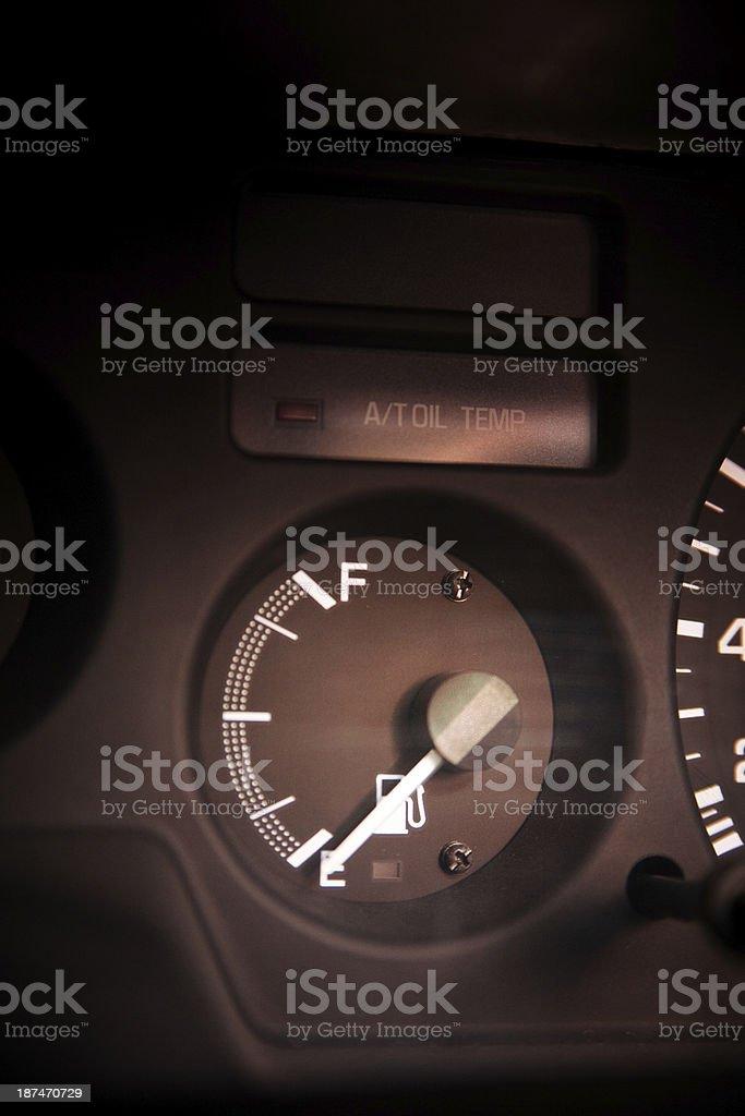 Car Mileage royalty-free stock photo