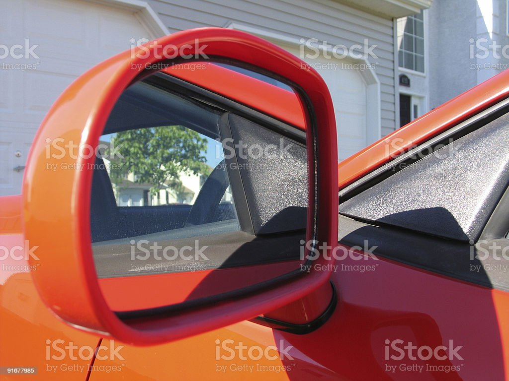 Car Mirror royalty-free stock photo
