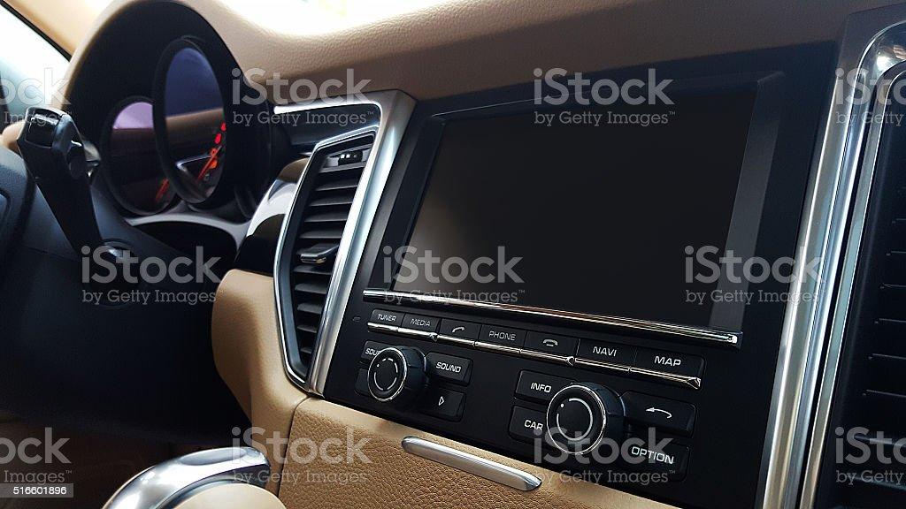 Car Navigation System stock photo