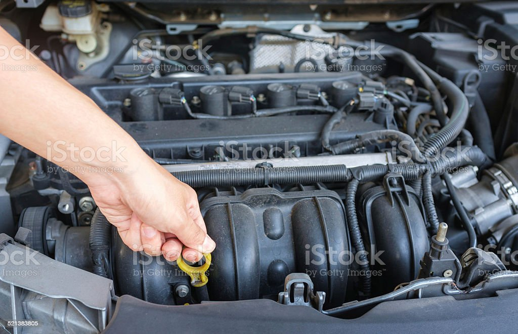 Car Need Maintainance stock photo