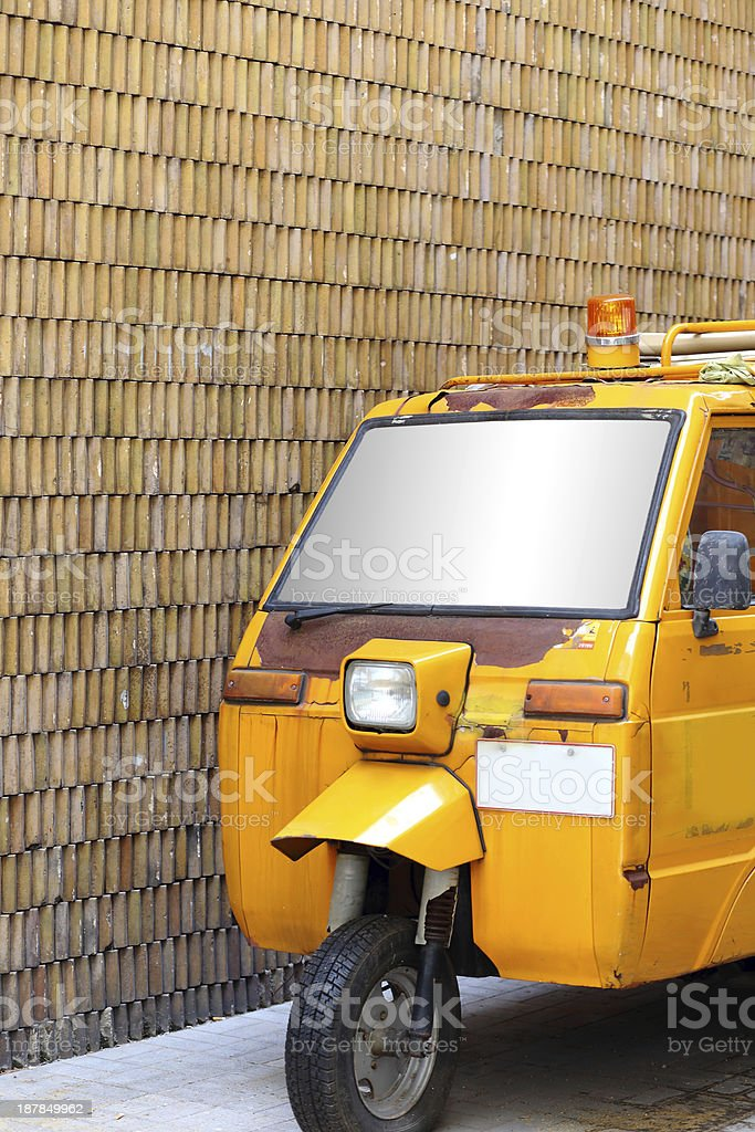 car of thailand royalty-free stock photo