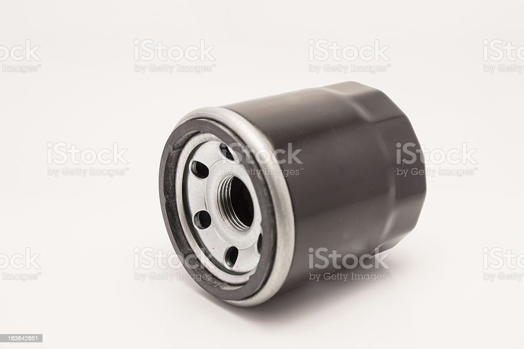 car oil filter royalty-free stock photo