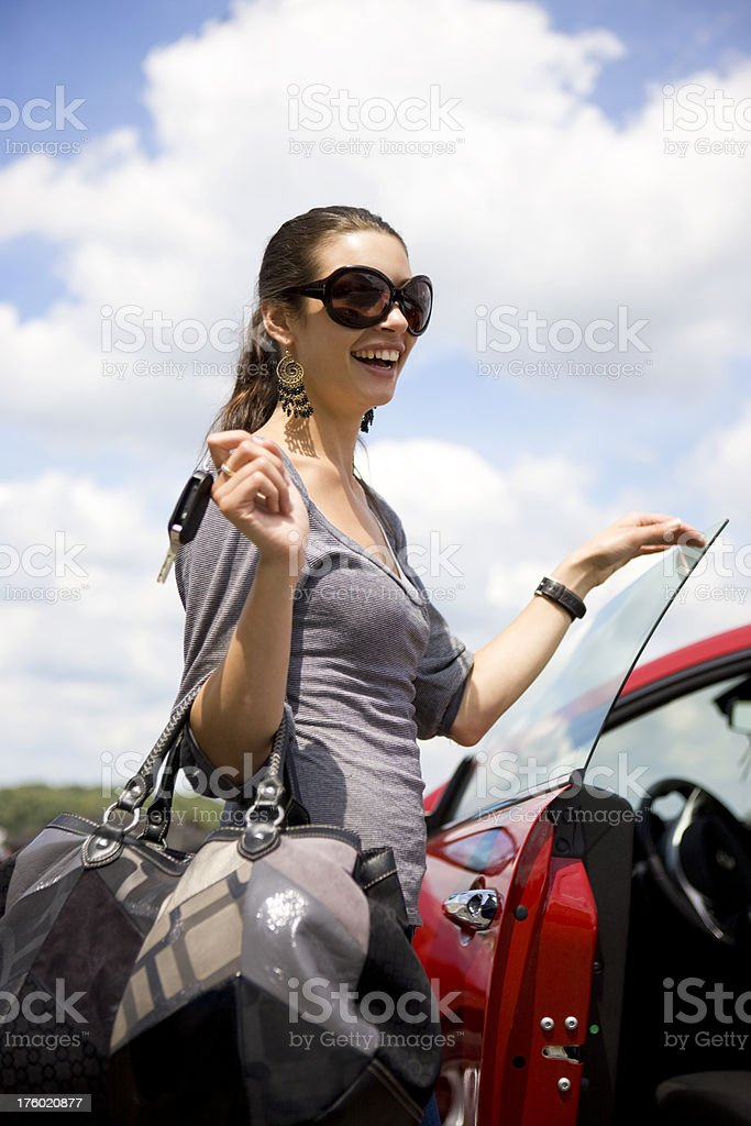 Car owner royalty-free stock photo