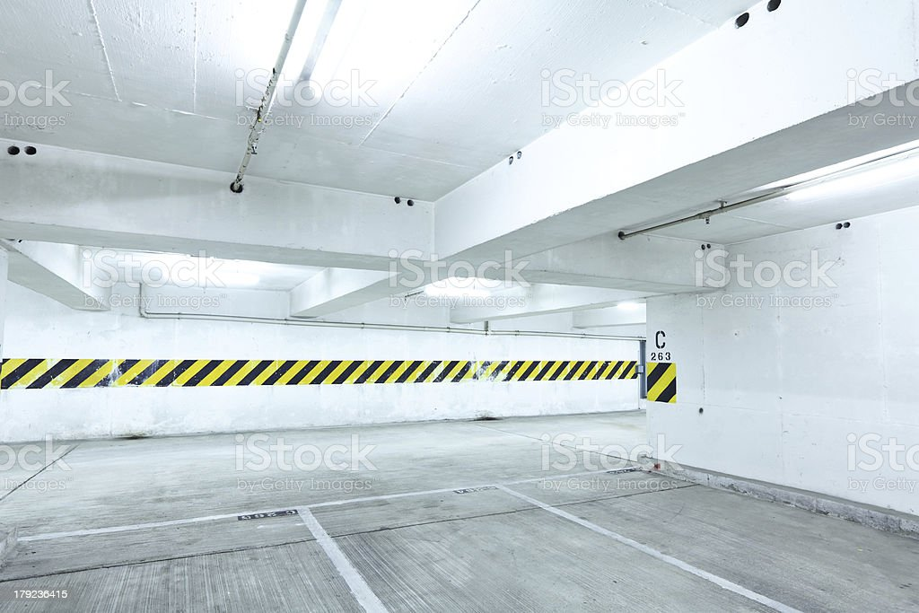 car parking level royalty-free stock photo