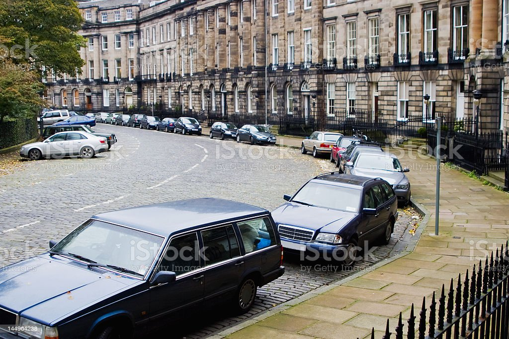 Car parking royalty-free stock photo