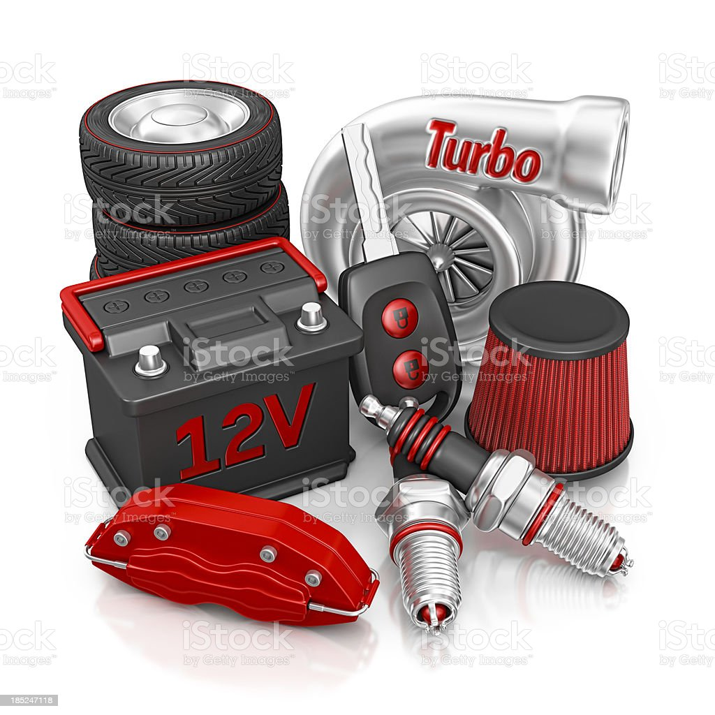 car parts royalty-free stock photo