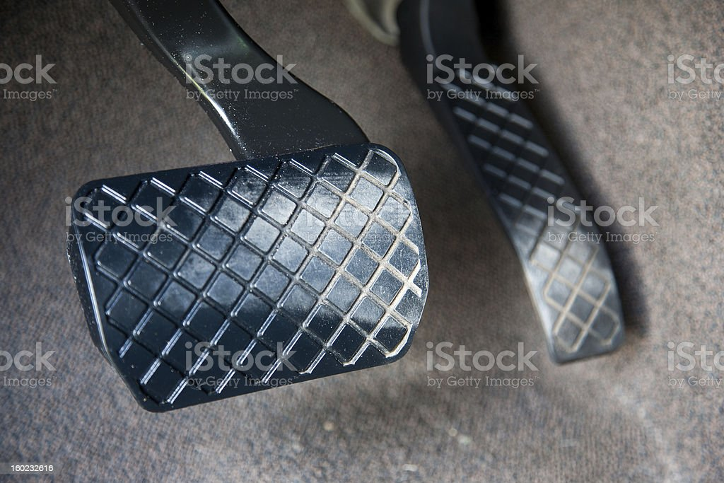 Car Pedals. stock photo