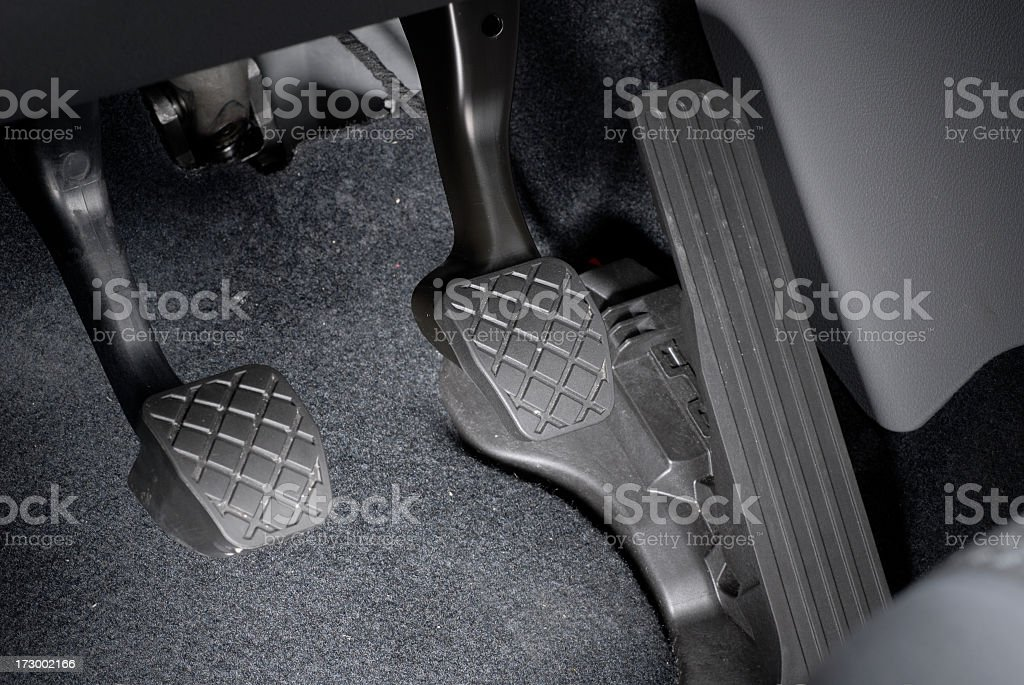 Car Pedals stock photo