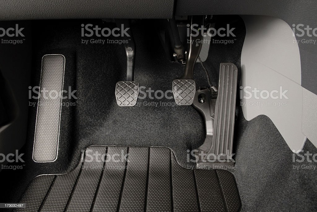 Car Pedals royalty-free stock photo