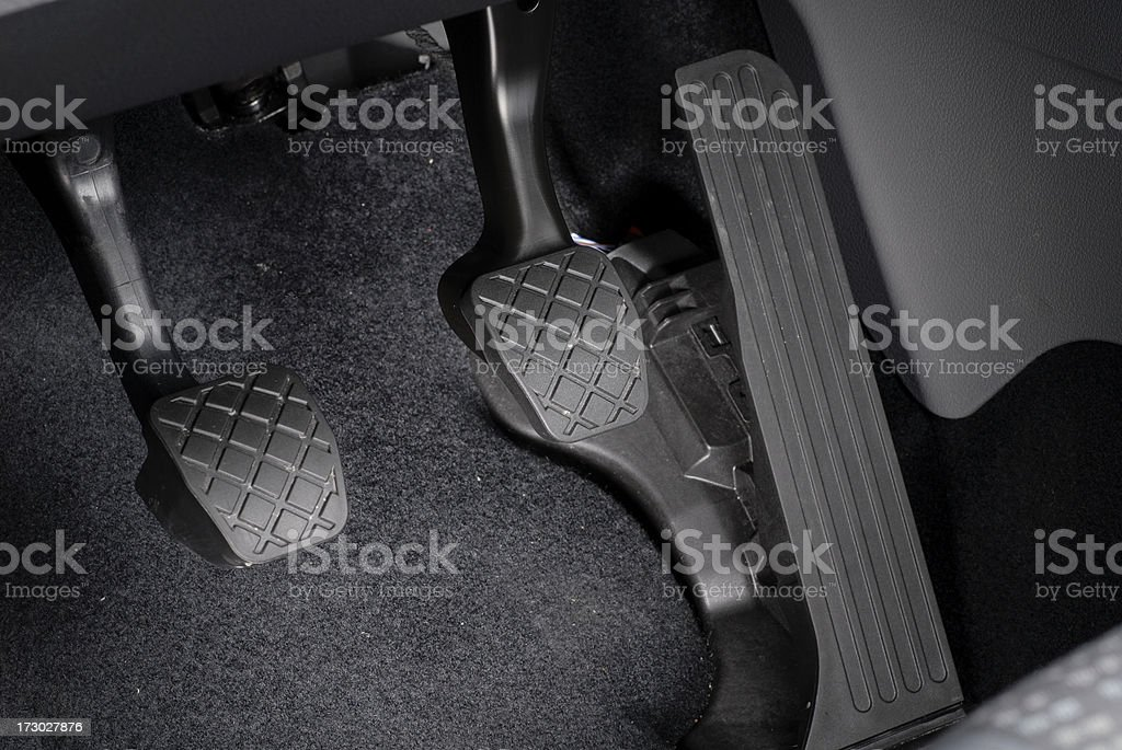 Car Pedals Series stock photo