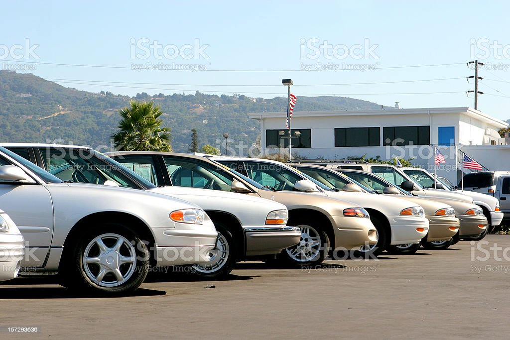 Automobiles stock photo