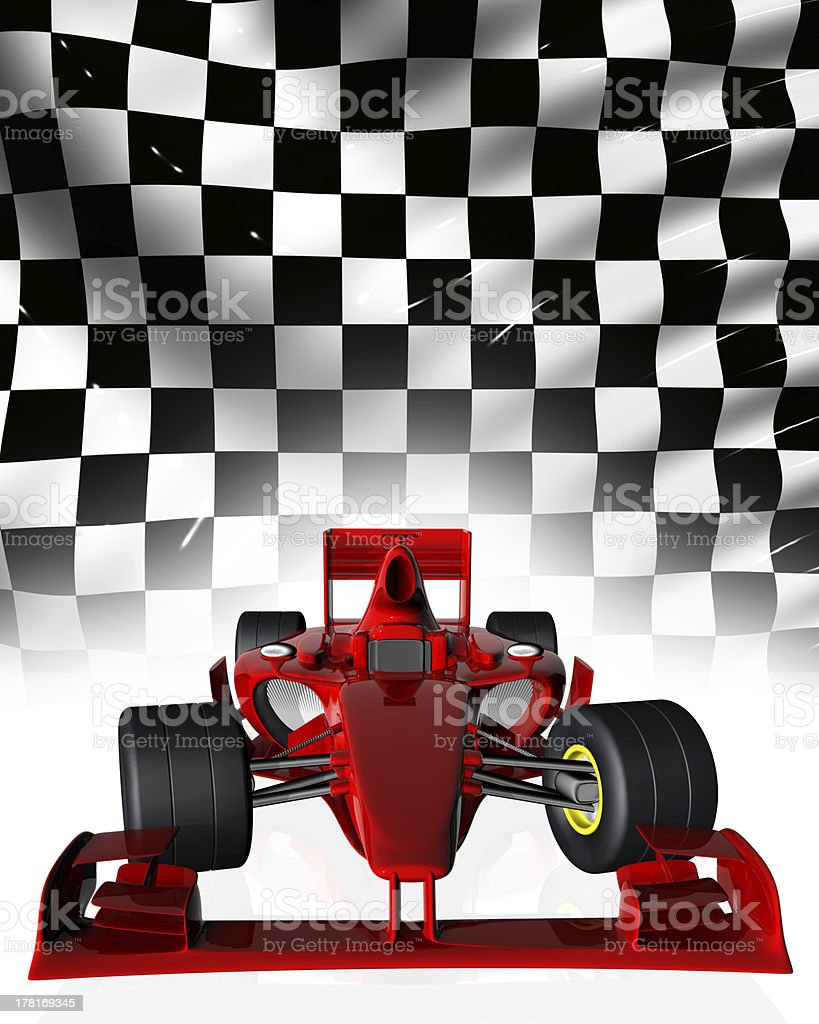 F1 car stock photo