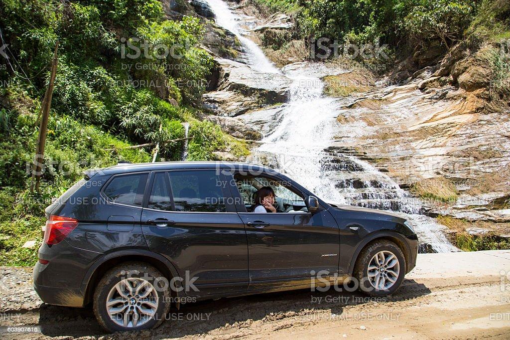BMW X3 car stock photo