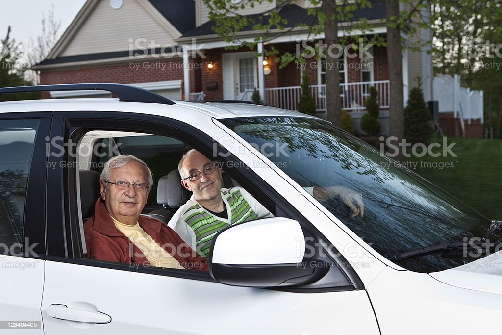 Car Pooling stock photo