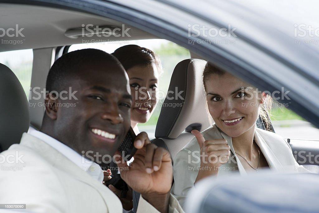 Car Pooling stock photo