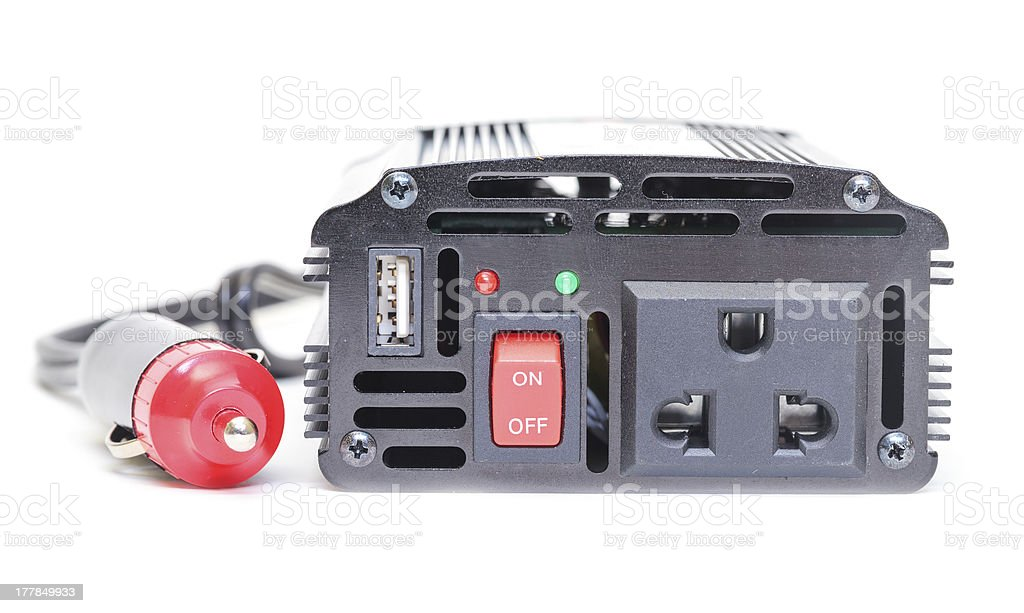 Car Power Inverter royalty-free stock photo